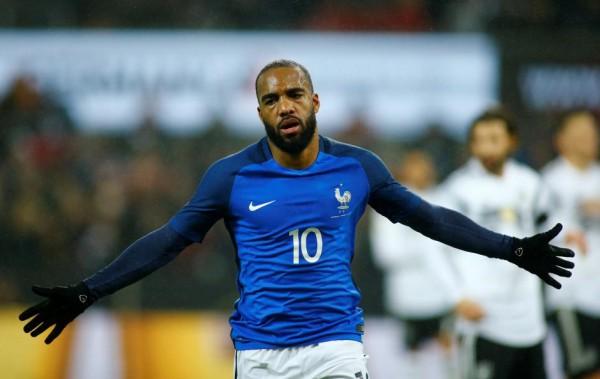 لاکازت : شکی نیست که این بهترین بازی من برای فرانسه بود، مربی هم گفت که نمایش خوبی داشتم