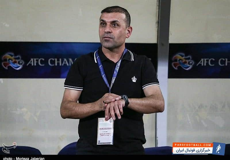 عبدالله ویسی سرمربی تیم فوتبال استقلال خوزستان