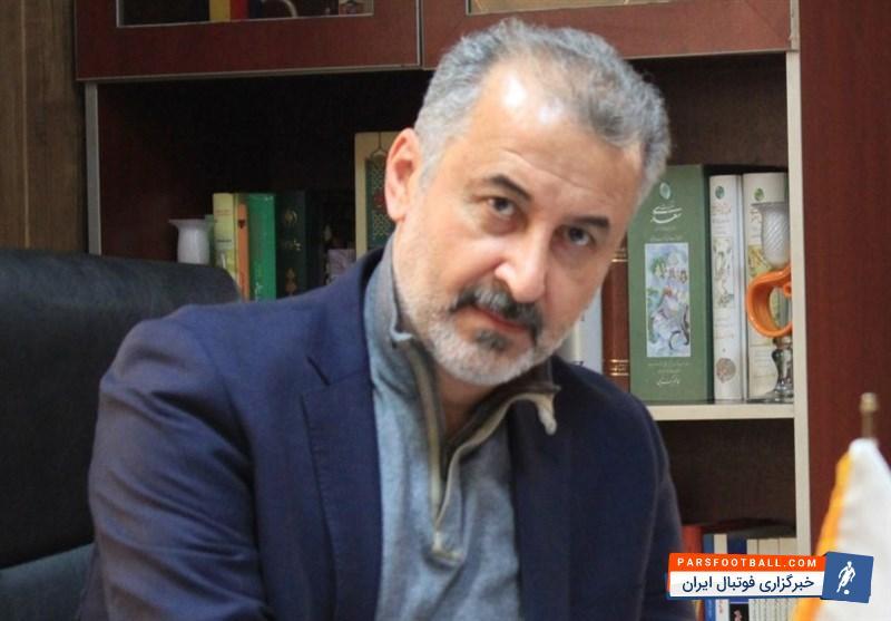 رضا درویش مدیرعامل باشگاه سایپا