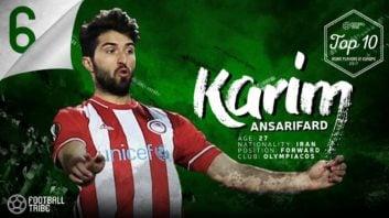کریم انصاری فرد و سردار آزمون در میان 10 بازیکن برتر آسیایی سال 2017 در اروپا