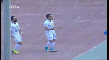 گل اول استقلال به استقلال خوزستان