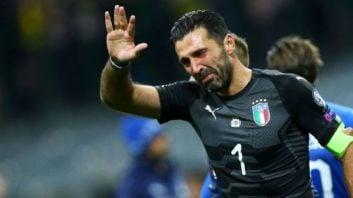 بوفون دروازه بان یوونتوس و تیم ملی فوتبال ایتالیا غایب بزرگ جام جهانی 2018