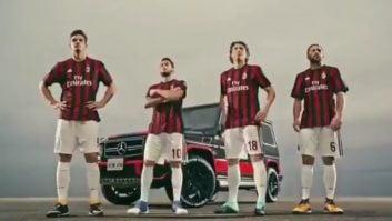 تبلیغ فوق العاده زیبا با حضور بازیکنان میلان