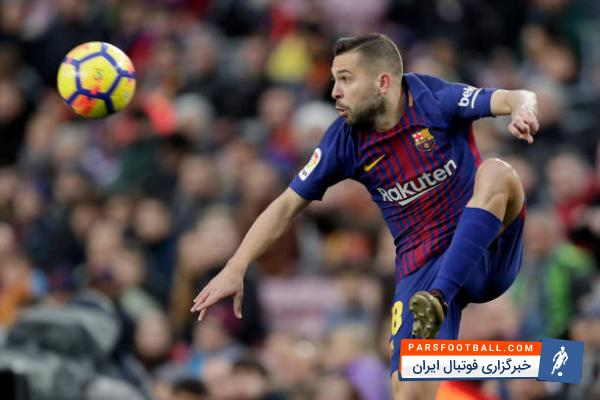 تیم فوتبال بارسلونا برای تمدید قرار داد جوردی آلبا مدافع تیمش برنامه دارد