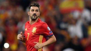 داوید ویا : امید و آرزوی من این است که تیم اسپانیا همیشه موفق باشد