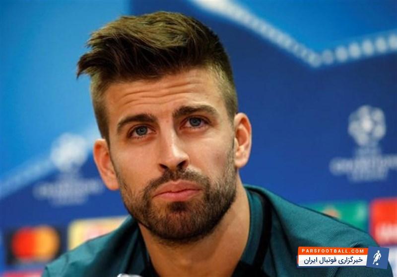 پیکه مدافع تیم فوتبال بارسلونا رسما قراردادش را با بارسلونا تمدید کرد