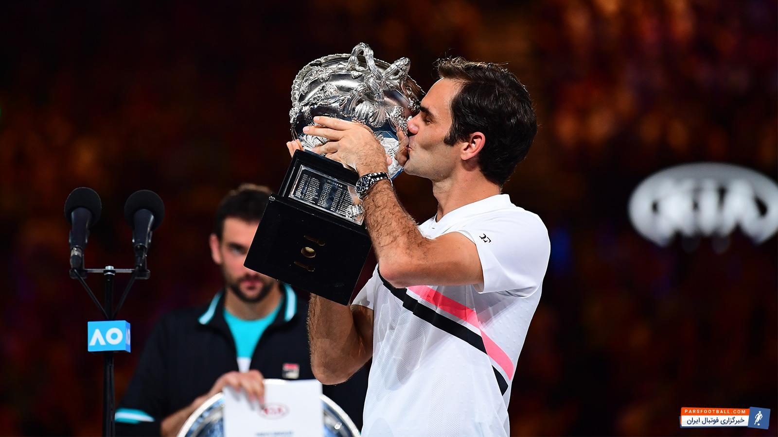 راجر فدرر قهرمان تنیس آزاد استرالیا