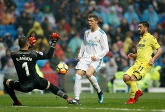 خلاصه بازی رئال مادرید در برابر ویارئال