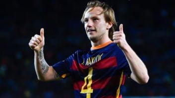 گل فوق العاده ایوان راکیتیچ هافبک کروات بارسلونا در تمرینات این تیم