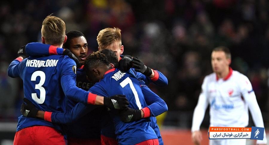 تیم زسکا مسکو با برتری مقابل ستاره سرخ بلگراد از صربستان در بازی برگشت مرحله یکشانزدهمنهایی رقابتهای لیگ اروپا به مرحله یکهشتمنهایی این جام راه یافت.