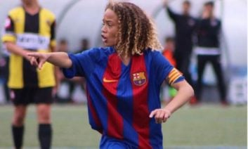 ژاوی سیمونز لیونل مسی آینده فوتبال بارسلونا