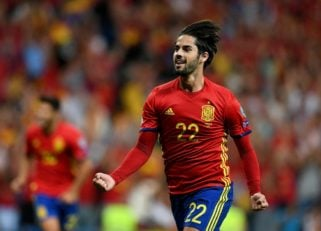 ایسکو ؛ مهارت ها و عملکرد ایسکو ستاره اسپانیا در دیدار برابر ایتالیا و آرژانتین