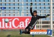محسن فروزان دروازه بان پارس جنوبی در بازی با ذوب آهن عملکرد خوبی داشت