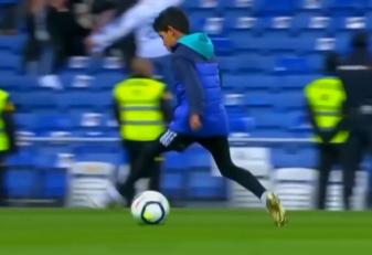 رونالدو ؛ نگاهی به مهارت های فوتبالی کریستیانو جونیور پسر رونالدو