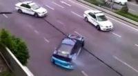 تعقیب راننده مجرم