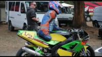 موتورسواری یک معلول