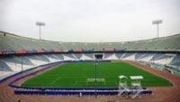 ورزشگاه آزادی - نفت - آیتالله خامنهای