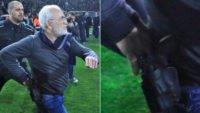 ایوان ساویدیس رئیس باشگاه پائوک با ممنوعیت ورود به ورزشگاه فوتبال بمدت 3 سال مواجه شد