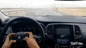 رانندگی با دسته پلی استیشن