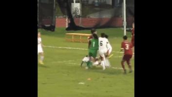 درگیری در فوتبال بانوان
