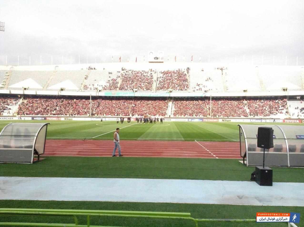 تیم های پرسپولیس و السد قطر در هفته پایانی از مرحله گروهی لیگ قهرمانان آسیا از ساعت 19:30 امروز (دوشنبه) در ورزشگاه آزادی به مصاف هم خواهند رفت.در آستانه دیدار پرسپولیس - السد هواداران پرسپولیس از نبود بلیت جایگاهها برای فروش ابراز ناراحتی کردند.