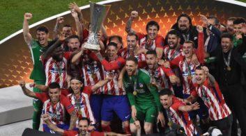 مراسم اهدای جام قهرمانی لیگ اروپا