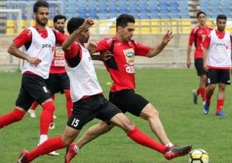 آخرین تمرین پرسپولیس قبل بازی با الجزیره امارات