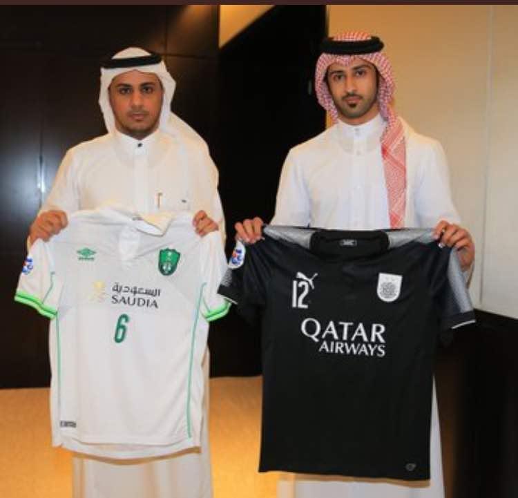 تیم السد قطر امشب دیدار برگشت مرحله یک هشتم نهایی را برابر الاهلی در جده برگزار می کند و از لباس دو تیم برای این دیدار رونمایی شد.