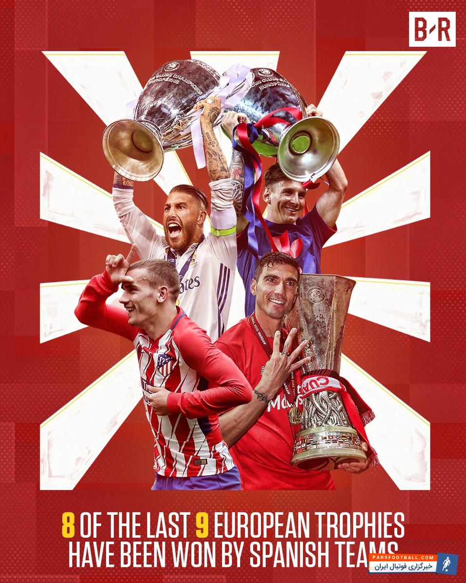 اتلتیکومادرید با قهرمانی در لیگ اروپا به تسلط اسپانیایی ها به فوتبال اروپا ادامه داد
