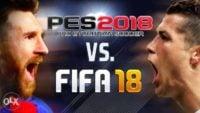 فوتبال ؛ تصویری از تفاوت کیفیت طراحی چهره کاسمیرو در فیفا 2018 با pes 2018