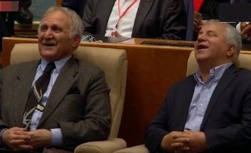 شوخیریوندی با علی پروین در جشنقهرمانیپرسپولیس
