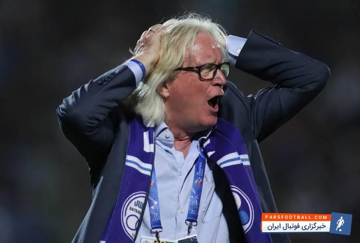 گودرز حبیبی - تیم استقلال - وینفرد شفر سرمربی استقلال
