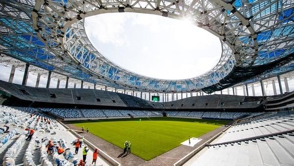 ورزشگاه نیژنی نووگورود میزبان جام جهانی