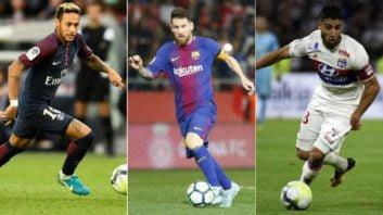 فوتبال ؛ تکنیک های تماشایی و ویران کننده از سوی ستاره های مطرح دنیای فوتبال