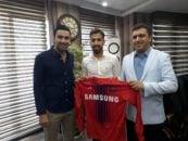 فرشاد فرجی با عقد قراردادی رسما به نساجی مازندران پیوست فرشاد فرجی سابقه بازی در تیمهای راهآهن تهران، صنعت نفت آبادان و سایپا را دارد