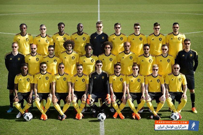 بازیکنان تیم فوتبال بلژیک  با سرگروهی روبرتو مانتینز از مدعیان خاموش جام به شمار می آیند بازیکنان تیم فوتبال بلژیک نیز وارد روسیه شدند.