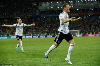 کروس ؛ گل دقایق آخری تونی کروس به تیم سوئد باعث پیروزی آلمان شد
