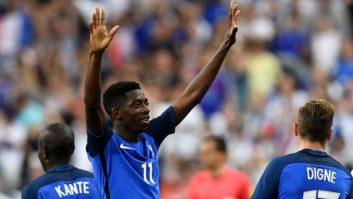 دمبله ؛ نگاهی به عملکرد عثمان دمبله بازیکن فرانسه در دیدار دوستانه برابر ایتالیا