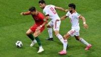 ایران ؛ با کسب تساوی برابر پرتغال جمع امتیازات ایران در جام جهانی به 10 رسید