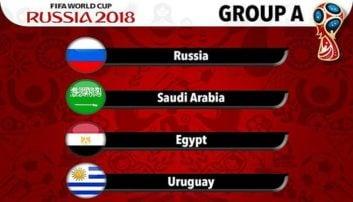 معرفی تیم های گروه A جام جهانی 2018
