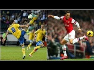 فوتبال ؛ کنترل توپ فوق العاده از ستاره های مطرح دنیای فوتبال مانند نیمار ، رونالدو