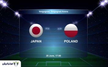 بازی ژاپن لهستان