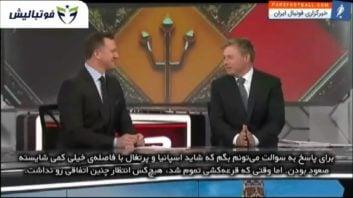 عملکرد تیم ملی فوتبال ایران مقابل پرتغال
