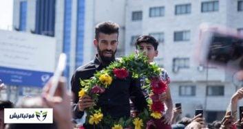 رامین رضاییان ؛ استقبال باشکوه از رامین رضاییان در ساری پس از بازگشت از جام جهانی