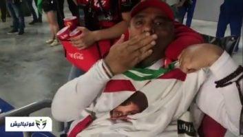 عمو موسی ؛ واکنش عمو موسی به گل کریم انصاری فرد به پرتغال در جام جهانی
