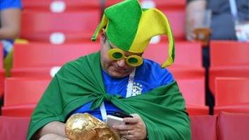 برزیل ؛ فیلم ؛ تشییع جنازه تیم ملی آلمان از سوی هواداران برزیل به خاطر حذف از جام جهانی