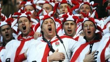 انگلیس ؛ خوشحالی هواداران تیم فوتبال انگلیس بعد از پیروزی برابر تونس