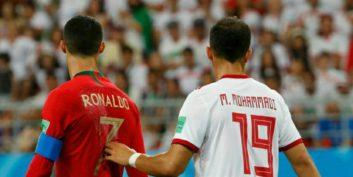 میلاد محمدی ؛ ماجرای پیراهن های همنام میلاد محمدی و مجید حسینی در بازی ایران و پرتغال