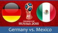 دیدار تیم ملی آلمان و مکزیک