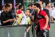 محمد صلاح ستاره مصری لیورپول با حضور در تمرینات شور و شوق را به مردم مصر تزریق کرد.